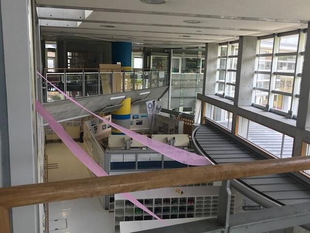 緑ヶ丘小学校 2階からの眺め