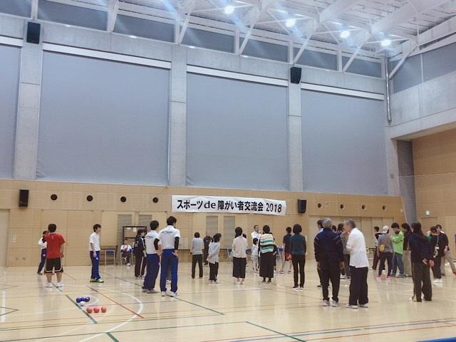 目黒区 スポーツ 障がい者交流会 3